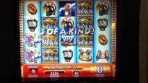 ZEUS II Penny Video Slot Machine with BONUS, SUPER RESPINS and BIG WINS Las Vegas