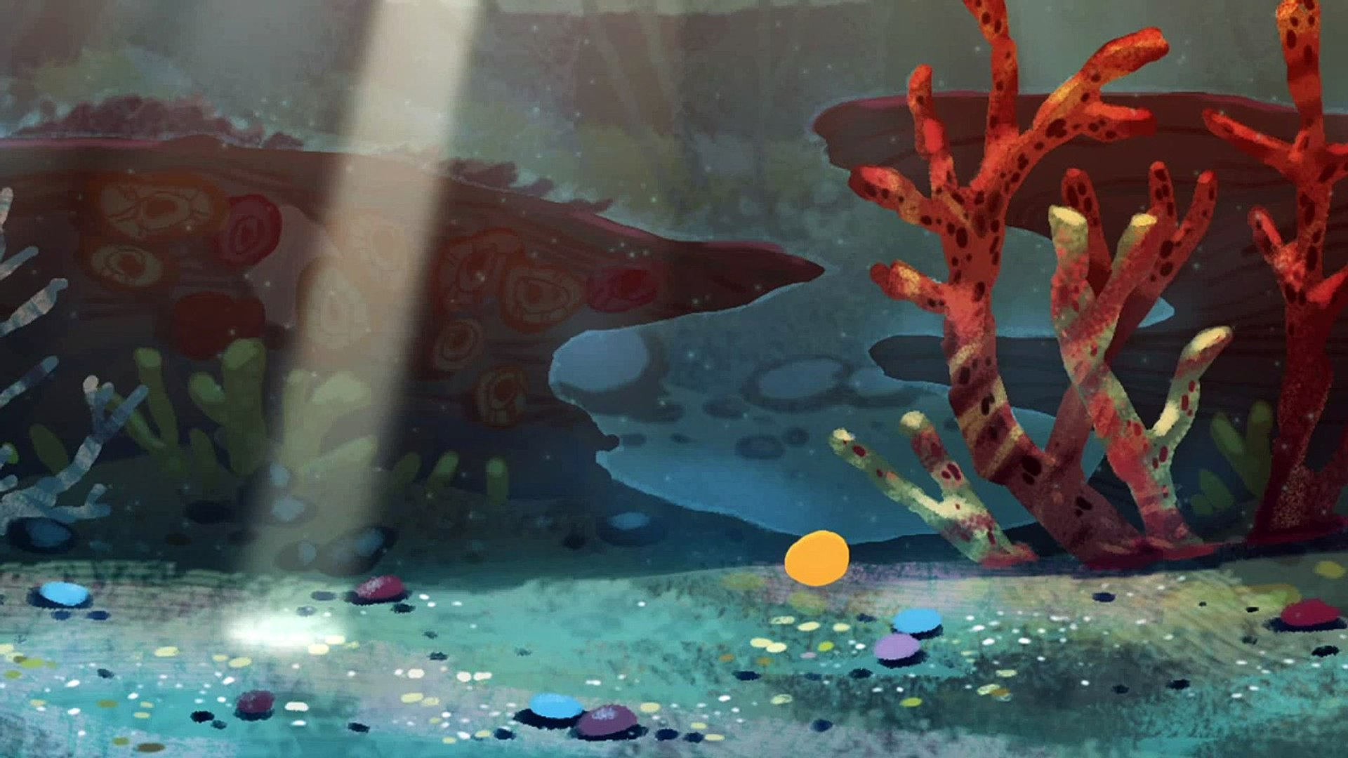 Gold Fish - Золотая рыбка - Animated Cartoon for Children