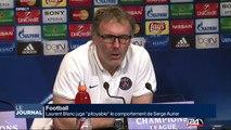 """Laurent Blanc juge """"pitoyable"""" le comportement de Serge Aurier"""