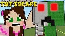 PAT AND JEN PopularMMOs Minecraft: CREEPER ANATOMY - TNT ESCAPE - Custom Map [1]