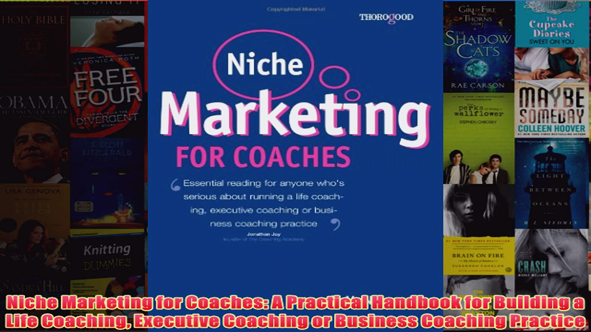Download PDF  Niche Marketing for Coaches A Practical Handbook for Building a Life Coaching Executive FULL FREE
