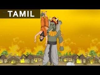 Gajasuran - Ganesha In Tamil - Animated / Cartoon Stories For Kids