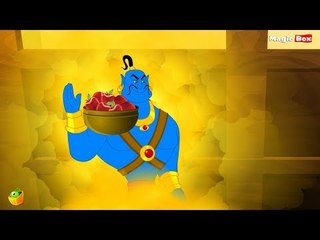 Aladdin And The Lamp - Arabian Nights In Tamil - Cartoon / Animated Stories