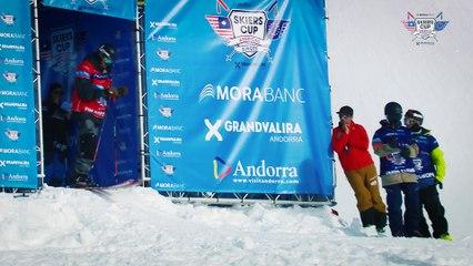Run Tim Durtschi - BC Slopestyle Round 1 - Mora Banc Skiers Cup Grandvalira 2016