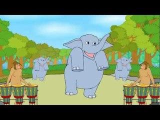 Baby Elephant - English Nursery Rhymes - Cartoon/Animated Rhymes For Kids