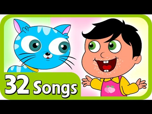 Kids Nursery rhymes - Johny Johny Yes Papa And Plus Lot More Nursery Rhymes   32 Songs Compilation For Kids & Children