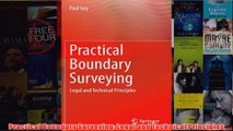 Download PDF  Practical Boundary Surveying Legal and Technical Principles FULL FREE