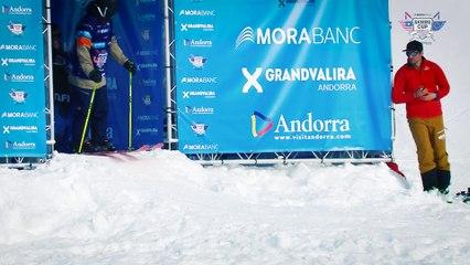 Run Fabio Studer - BC Slopestyle Round 1 - Mora Banc Skiers Cup Grandvalira 2016