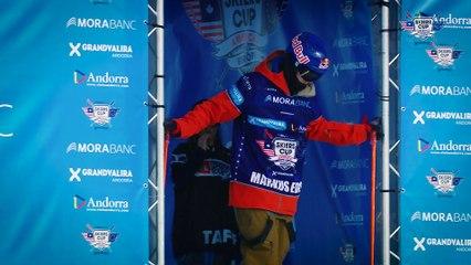 Run Markus Eder - BC Slopestyle Round 1 - Mora Banc Skiers Cup Grandvalira 2016
