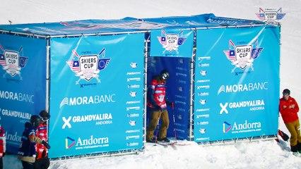 Run Nick McNutt - BC Slopestyle Round 1 - Mora Banc Skiers Cup Grandvalira 2016