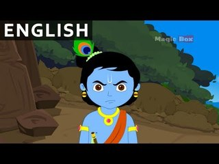 End Of Aghasur - Krishna vs Demons In English - Animated / Cartoon Stories For Kids
