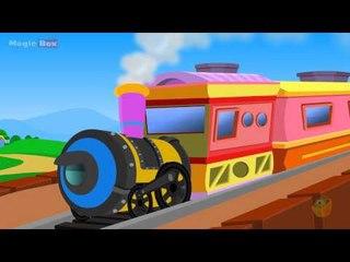 Train - Kingini Chellam - Malayalam Animated/Cartoon Rhymes For Kids