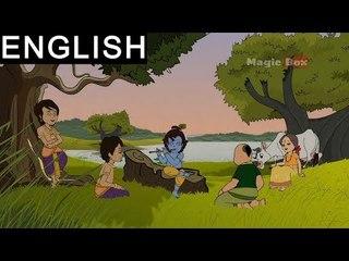 Krishna And Kaliya - Sri Krishna In English - Animated/Cartoon Stories For Kids