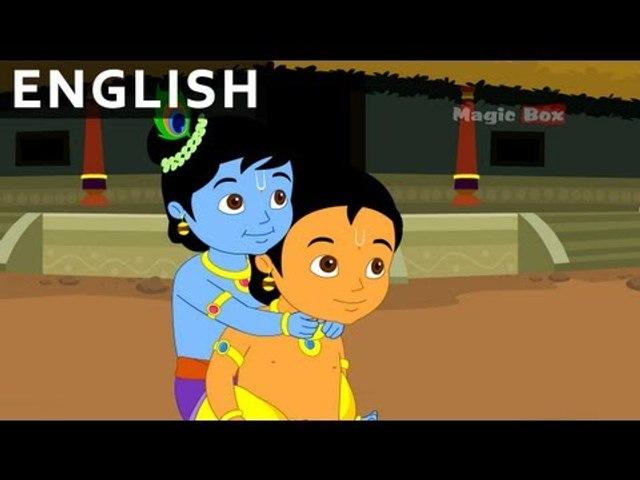 Krishna In Mathura - Krishna vs Demons In English - Animated / Cartoon Stories For Kids