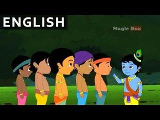 End Of Pralamb - Krishna vs Demons In English - Animated / Cartoon Stories For Kids