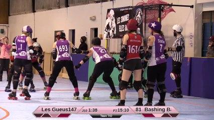 HD_Les Gueuses de Pigalle VS Les Bashings Banshees 2e mi-temps