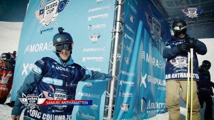 Run Sam Anthamatten - BC Slopestyle Round 2 - Mora Banc Skiers Cup Grandvalira 2016