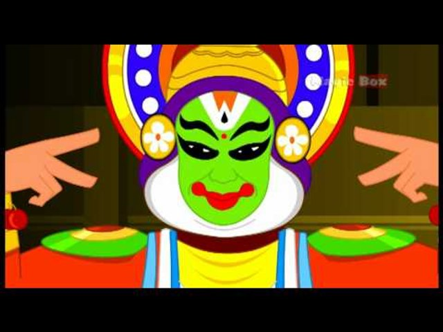 Onam - Kingini Chellam - Pre School - Animated/Cartoon Rhymes For Kids