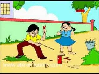Deepavali - Chellame Chellam - Pre School - Animated Rhymes For Kids