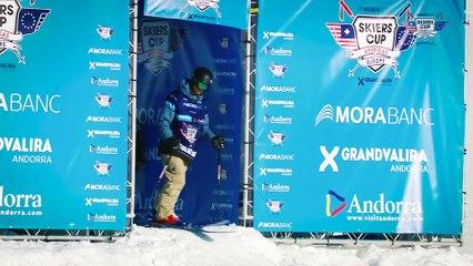 Run Nicolas Vuignier - BC Slopestyle Round 2 - Mora Banc Skiers Cup Grandvalira 2016