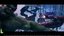 Avengers 2, Toutes les Scènes de Combat Partie 1 | Ouverture de Bataille Maison de Combat du Navire Scène de Combat HD