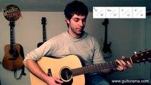 Les champs élysées - Cours guitare tuto - Joe Dassin - facile à jouer - 2/10 - Chanson Française