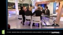 C à Vous – Bernard-Henri Lévy apporte son soutien à Nicolas Sarkozy et tacle Alain Juppé (Vidéo)
