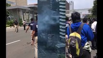 Jakarta explosions: at least four reported dead as blasts and gunfire rock capital