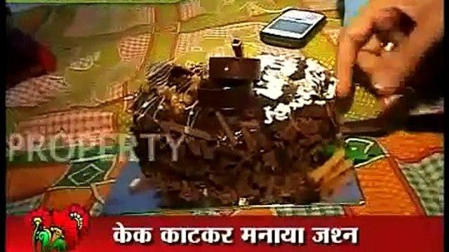 Gurmeet s Bday 2011.. Drashti (Geet) surprises Gurmeet (Maan) on his birthday - YouTube.flv