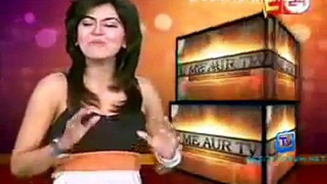 Drashti celebrating Gurmeet s birthday 2011- U Me aur TV Segment - YouTube.flv