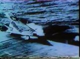 WW2 Airplane crash landings on US Aircraft Carrier