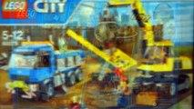 Лего Сити 60075 - Экскаватор и Грузовик - на русском. Лего Сити 2015. Лего Мультики. Кока туб