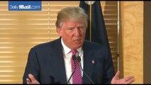 Donald Trump blames George W. Bush for disastrous Iraq war