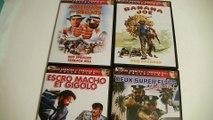 Présentation de 4 films en DVD avec Terence Hill et  Bud Spencer