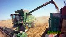 Camera embarqué avec une JOHN DEERE T560 à la moisson du blé et de lorge en 2012
