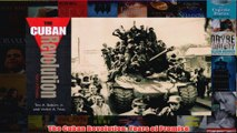 Download PDF  The Cuban Revolution Years of Promise FULL FREE