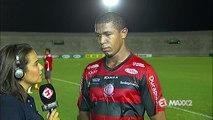 Autor do gol da vitória, Rodrigão critica atuação do time, mas exalta vitória