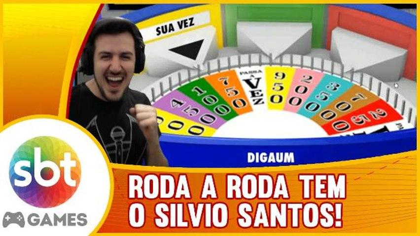 GAMEPLAY ESPECIAL: Roda a Roda - SILVIO SANTOS no GAME!