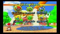 Lets Play Mario Power Tennis on Nintendo Gamecube Mark vs Jamie Battle 3