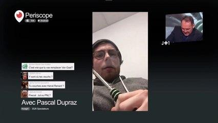 La parodie de la vidéo d'Aurier dans J+1 avec Dupraz !