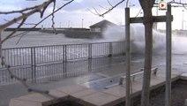 Quiberon: Fortes vagues sur la Grande plage - Bretagne Télé