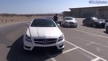 Desert Fun Races, Drifts, and More  mercedes audi C63, M6, CTS-V, CLS63, Etc 2016