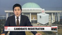 Ruling party outpacing opposition in candidate registration for April election