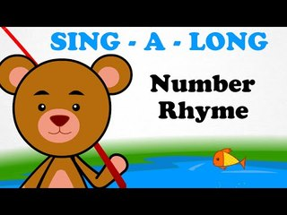 The Number Rhyme |  Sing a long | Animated English Songs | Cartoon Nursery Rhymes For Children