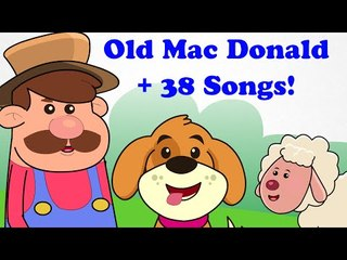 Old MacDonald Had A Farm | + More Kids Songs and Cartoon Nursery Rhymes  Songs For Children
