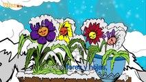 Copito de nieve Aprender español con canciones infantiles Yleekids