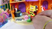 SpongeBob SquarePants Pineapple House Playset SpongeBob House Bob Esponja Губка Боб Toy Videos
