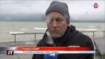 Kitesurf : les risques du sport avec Gumy (Delley-Portalban)
