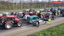 Rennes. La rocade bloquée par les agriculteurs