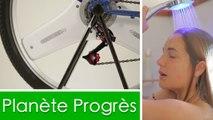 Planète progrès : un incroyable quadrirotor autonome et une douche intelligente